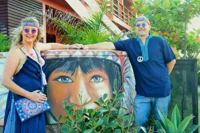 Festa Hippie Nilton & Nadya - Itapirubá Norte