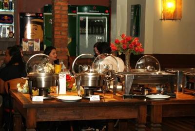 Confraternização dia do Trabalhador Unimed restaurante Céu da boca