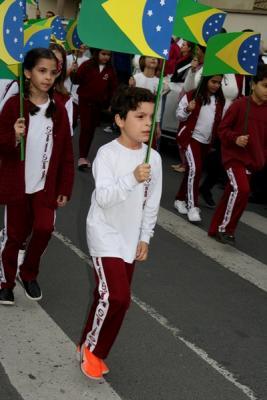 Alguns clicks Marcha do Colegio São José Tubarão