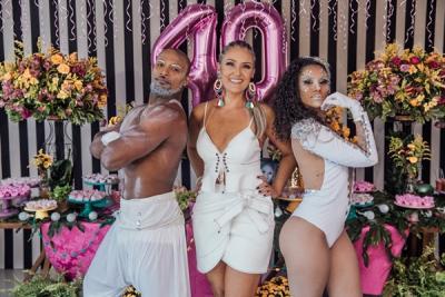 Aniversario Camila Canto e Gravação DVD Jeito Louco