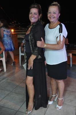 Leia comemora aniversário no Iate Clube em Laguna/SC
