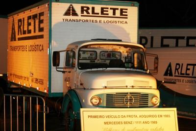 Confraternização 25 anos Arlete Transportes