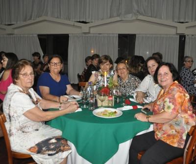 Jantar de Confraternização Clube da Lady Tubarão-SC