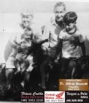 Custodia e Nico Gaspar In Memorian e seus netos Matheus e Lucas